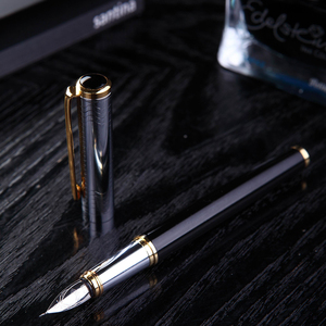 Image 3 - Venüs All   metal dolma kalem gotik sanat kalem arapça farsça mijit kaligrafi siyah altın 5 mm çok fonksiyonlu nib hediye