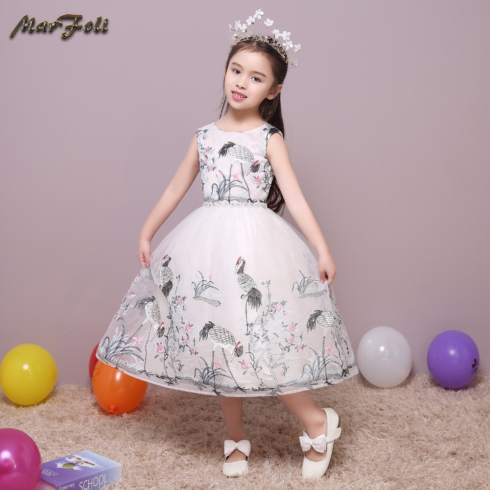 Cinderella Princess Character Dress Child 3t 4t 5 6 7: Marfoli Flower Girl Dress Ivory Cinderella Princess Dress