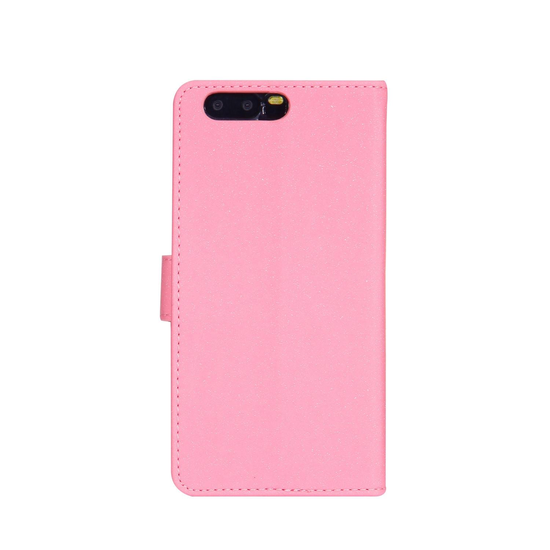 Glitter Flip Case for Huawei P10 VTR-L29 VTR-L09 VTR-L29B Floral High heels Leather Cover Phone Case for Huawei P 10 VTR L09 L29