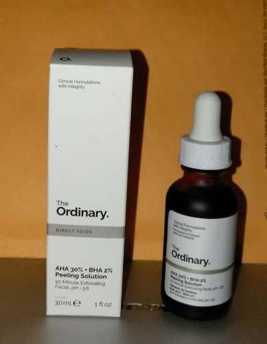 30 ml LA ORDINAIRE AHA 30% + BHA 2% Peeling Solution ACIDE Exfoliant