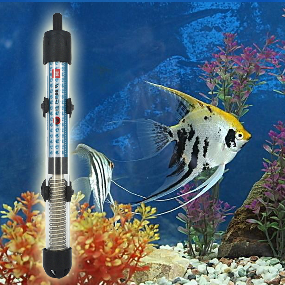 Aquarium fish tank online shopping - Best Price 100w Adjustable Automatic Submersible Heater Heating Rod For Aquarium Fish Tank Water Temperature Thermostat