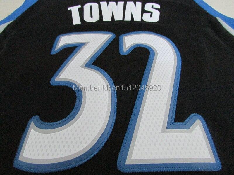 ... Online Shop 2015 Draft 32 Karl Anthony Towns Jersey Minnesota  Basketball Jerseys ColorBlack Blue White S 75cb4e7d5