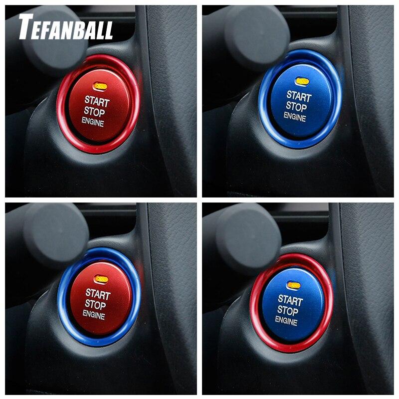 Car Engine Button Replace Cover STOP Key Accessories Switch Decoration Universal For Mazda 3 BM BN 6 GJ1 GL CX-4 CX4 CX-5 CX5