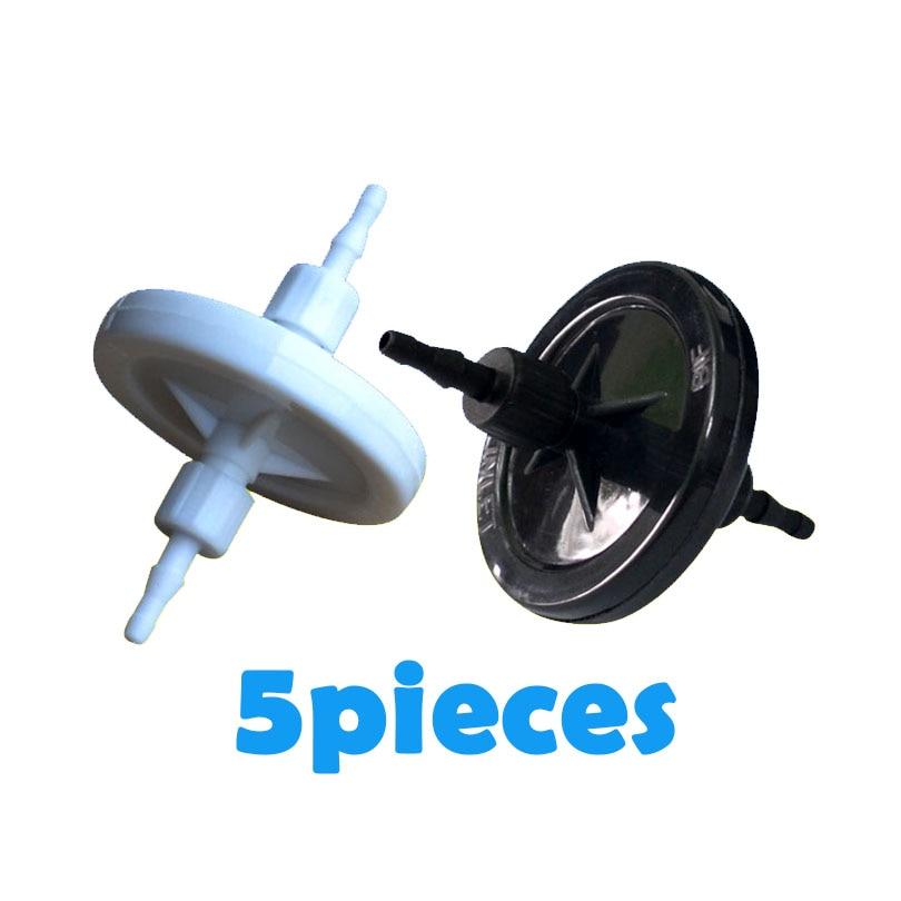 5 pcs UV D'encre Disque Filtre 10 microns 45mm pour Seiko Spectres Konica Xaar Infiniti imprimante Solvant Tête D'impression UV pall disque filtre d'encre