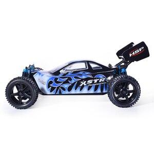 Image 2 - Hsp rcカー 1:10 4wdおもちゃオフロードバギー 94107PRO電力ブラシレスモーターリポバッテリー高速趣味リモート制御車