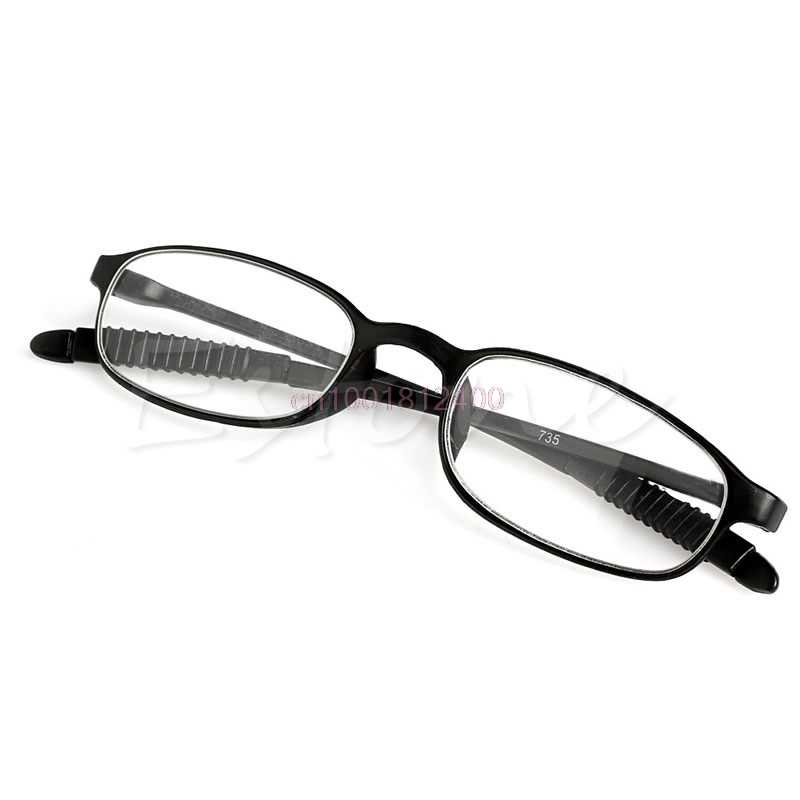 1 PC ใหม่ TR90 ผู้หญิงผู้ชายยืดหยุ่นแว่นตาผู้อ่านแว่นตา Presbyopic