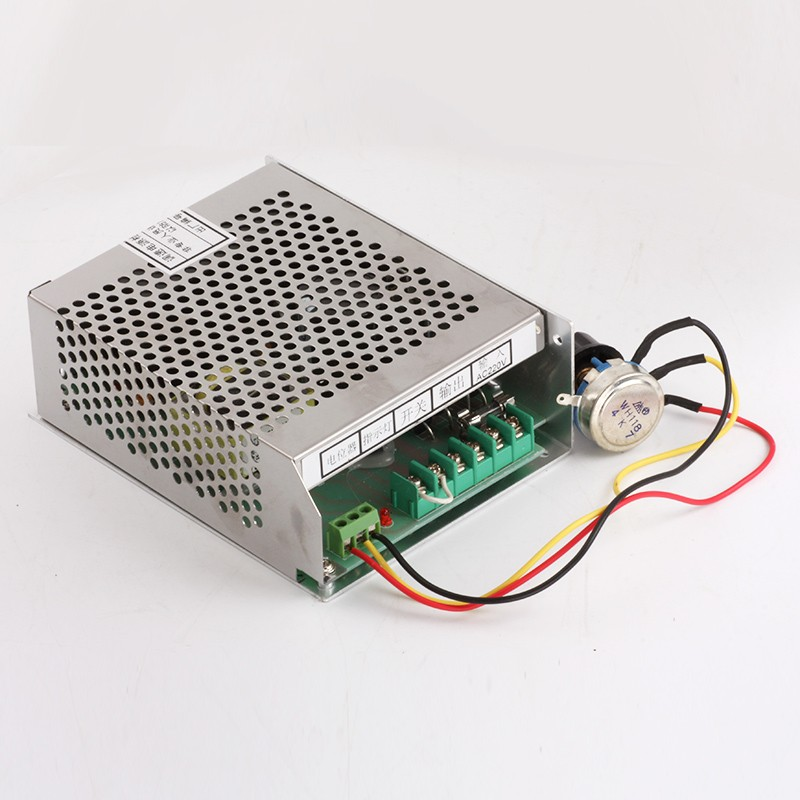 500w CNC air milling spindle Power Supply 220v or 110v with speed control (Mach 3) for 0.5kw ER11 spindle Motor A018B dc48v 400w 12000rpm brushless spindle motor air cooled 529mn dia 55mm er11 3 175mm for cnc carving milling