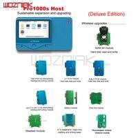 Wozniak Nuovo JC Pro1000S Telefono Multi-Funzionale Programmatore di Chip PCIE NAND Lettura del Modulo di Scrittura Per iPhone 6 S 6SP 7 7 8 P Strumento di Riparazione