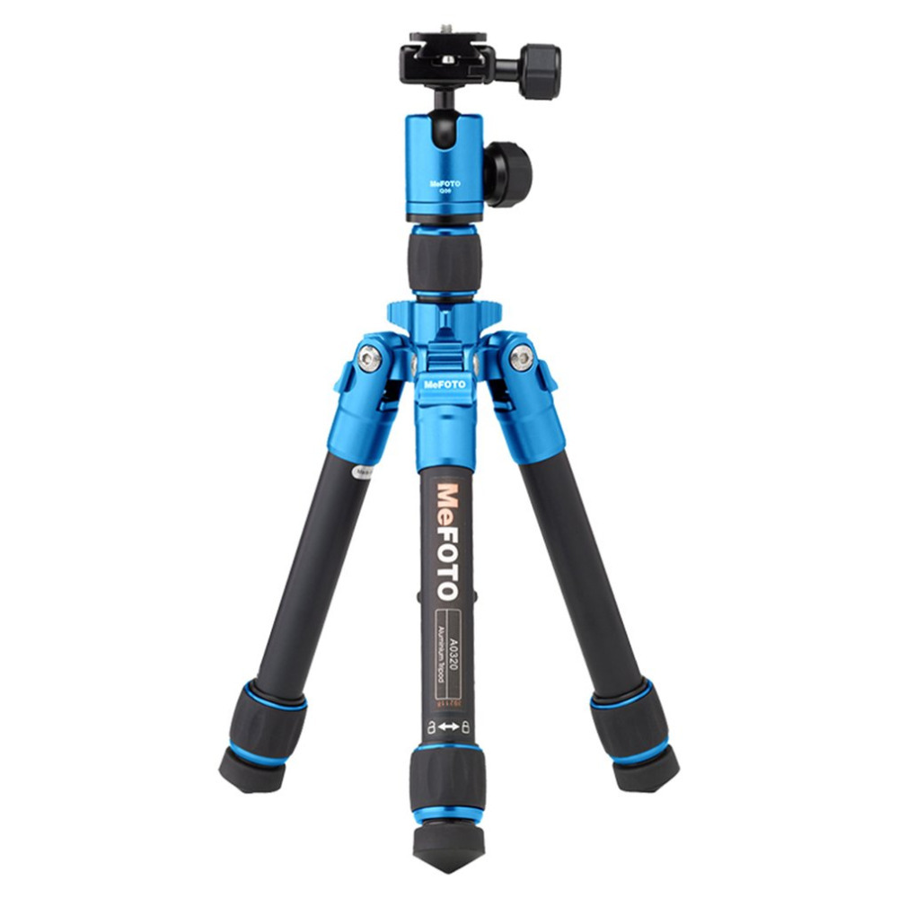 MeFOTO A0320Q00 Aluminum Alloy Mini Camera Tripod Portable Desktop Tripod Stand Support Steady Hold Camera With Tripod Head low price monitor head tripod camera telescope mini stand adjustable tripod free shipping page 4