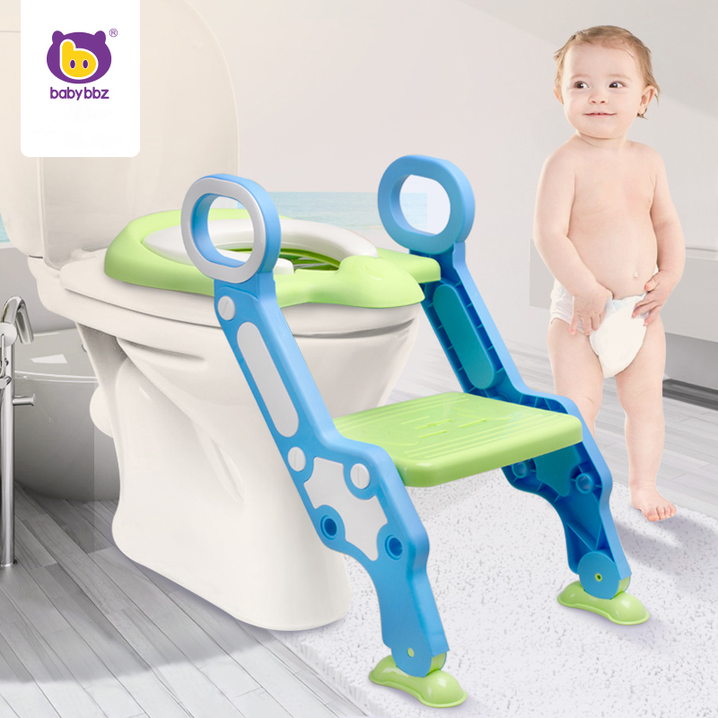 Babybbz Toilet Seat Potty Portable Urinal for Baby Children Pee Pot Kids Pad Ladder Trainer Chair Step Toilet Stairs Seat large capacity lovely car style child baby toilet seat drawer type girls boys potty seat children urinal seat kids penico pee
