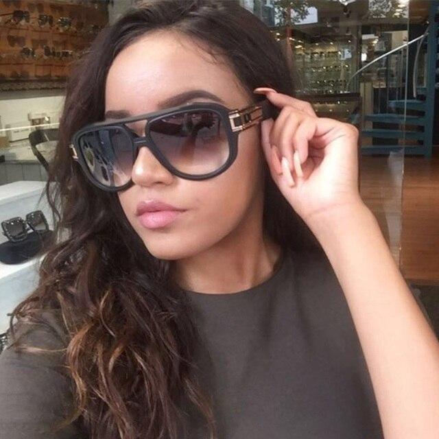 comprar online 709de 41e35 Nuevo 2018 de lujo los hombres gafas sol moda para las mujeres cuadrado  clásico UV400