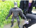 Envío gratis 1 unids 38 cm liga de la justicia película suave peluche de Batman muñeco de peluche para el niño niños regalo de la novedad