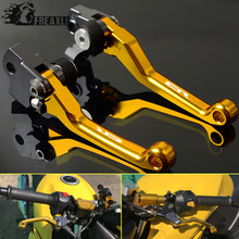 Motorbike Accessories Pivot Dirt bike Dirtbike CNC Aluminum Brake Clutch Levers Motorcycle For HUSQVARNA CR 2013 Printing