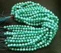 Amazoniote Cuentas de jade 10mm facetas perlas de Joyería de piedra naturales 190 unids/lot.1string = 38 granos del envío libre
