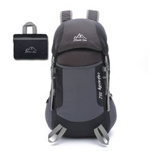 High Quality New Lightweight Waterproof Packable Travel Hiking Dayback Foldable Camping Backpack for Men and Women