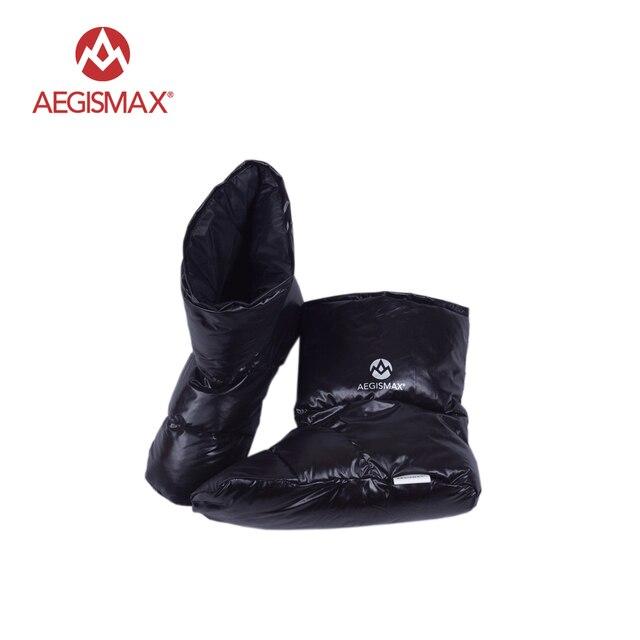 Accesorios Del Bolso de Dormir AEGISMAX Pato Zapatillas Ultraligero Acampada Al Aire Libre Calcetín Suave Unisex Calientes de Interior Largo Viaje