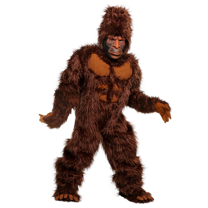 New Halloween Amazing Bigfoot Costume For Kids Legendary Unknown Primate Children Performance King Kong Cosplay Clothing|cosplay clothing|halloween costume for kidscostumes for halloween - AliExpress