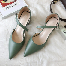 Cloes Toes Sandals Women Elegant Office Ladies Fashion Pointed Shoes Summer 2019 Silver Sexy