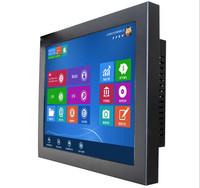 12 Inch Industrial Computer Full IP65 Waterproof 1000nits Sunlight Readable Panel PC For Outdoors
