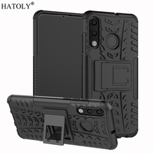 Cover Huawei P30 Lite Case Heavy Duty Armor Hard Rubber Silicone PC Phone for