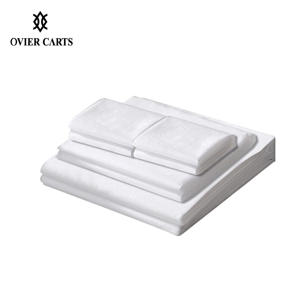 Disposable Sleeping Bag Non-woven Fabric Sleeping Pad Mat For Travel Hotel Use Bed Sleeve Sheet Pillowcase 4 Types