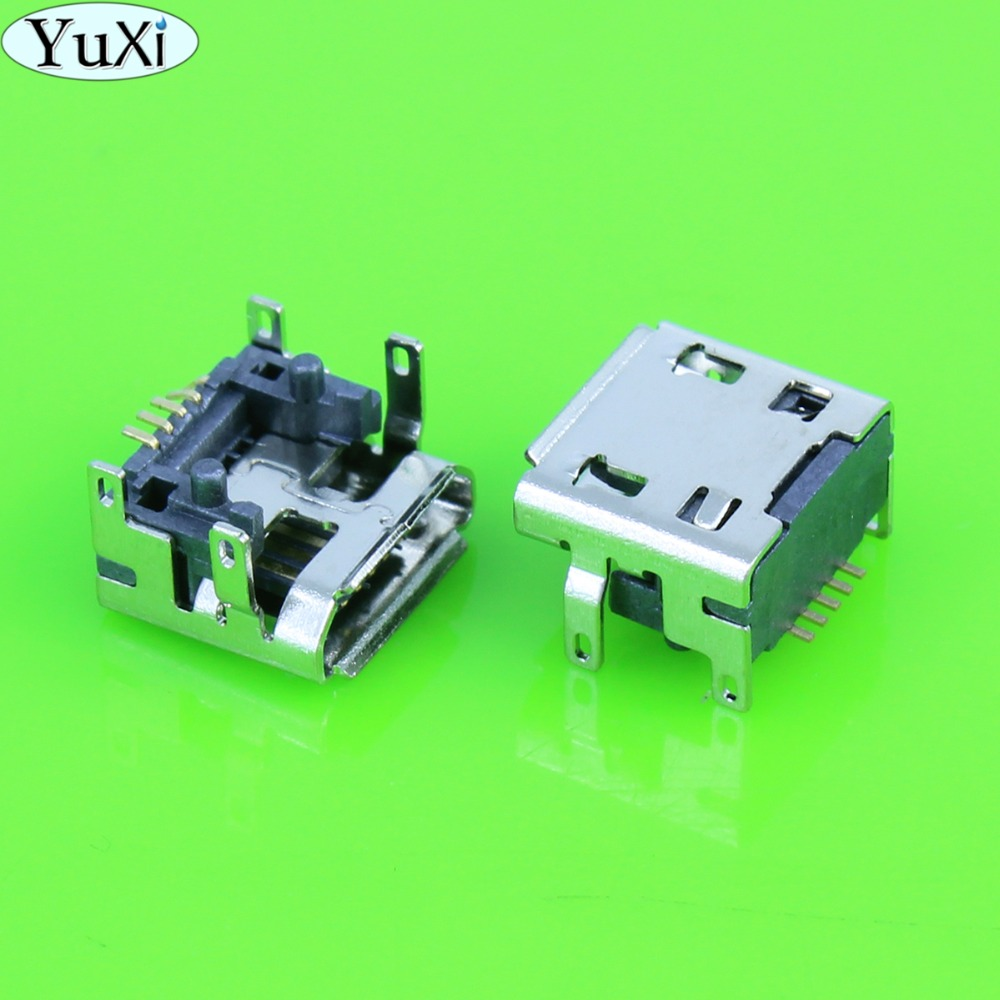 YuXi 1pcs 5pin type B for <font><b>JBL</b></font> <font><b>Charge</b></font> <font><b>3</b></font> FLIP <font><b>3</b></font> Bluetooth <font><b>Speaker</b></font> Micro mini USB Charging Port jack socket Connector <font><b>repair</b></font> 5 pin image
