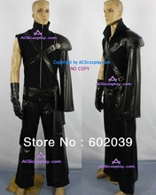 Final Fantasy VII 7 Cloud Strife Cosplay Costume include metal wolf head pin good quality