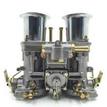 44 idf carburador carb com chifre de ar para vw bug beetle fiat porsche motor para weber 44 idf automóvel accesorios automovil