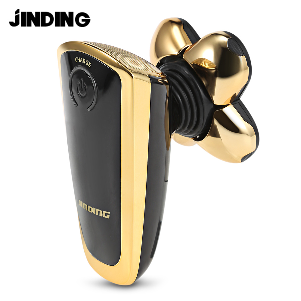 jinding men's electric razor shaver with 3d floating five-blade shaving heads