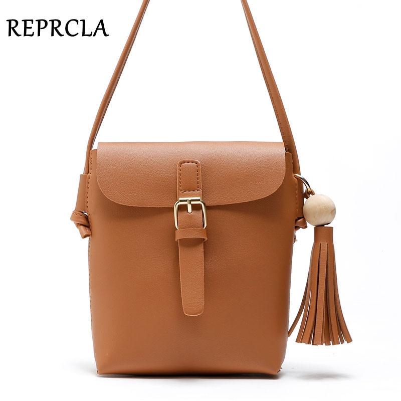 REPRCLA Fashion Tassel Shoulder Bags PU Կաշի Կանանց - Պայուսակներ - Լուսանկար 1