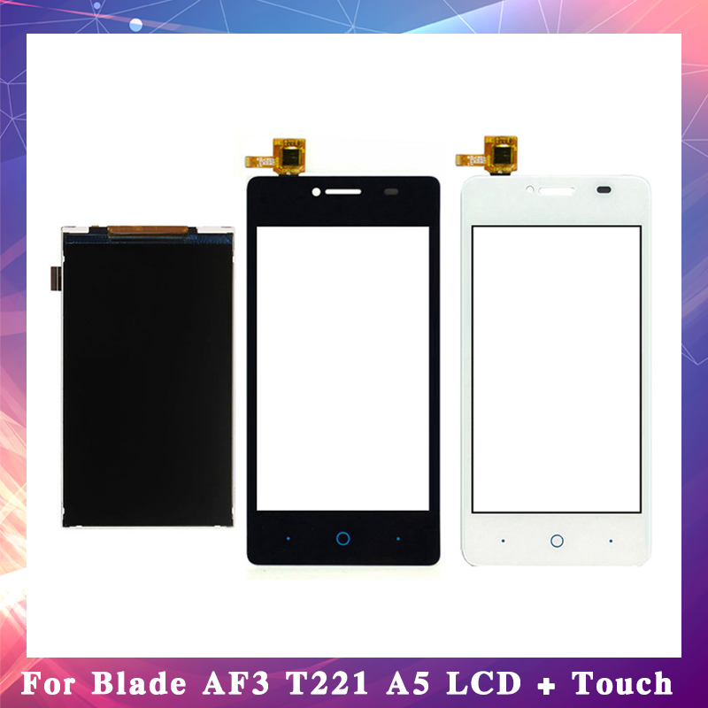 4.0 For ZTE Blade AF3 T221 A5 Lcd Display With Touch Screen Digitizer Sensor High Quality4.0 For ZTE Blade AF3 T221 A5 Lcd Display With Touch Screen Digitizer Sensor High Quality