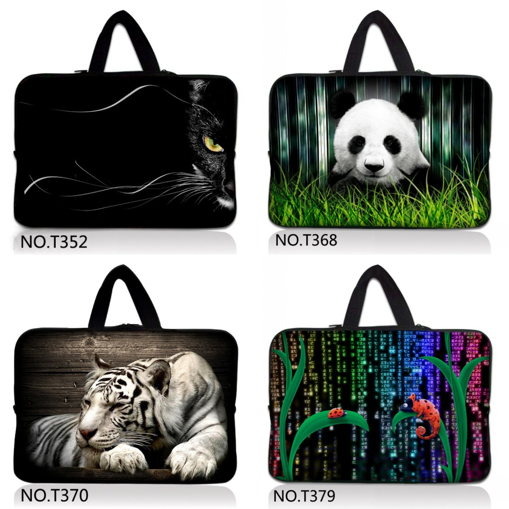 Fancy Seeker Brand New Zipper Laptop Sleeve Case For Macbook Laptop AIR PRO Retina 11 12 13 14 15 15.6 17 inch Notebook Bag
