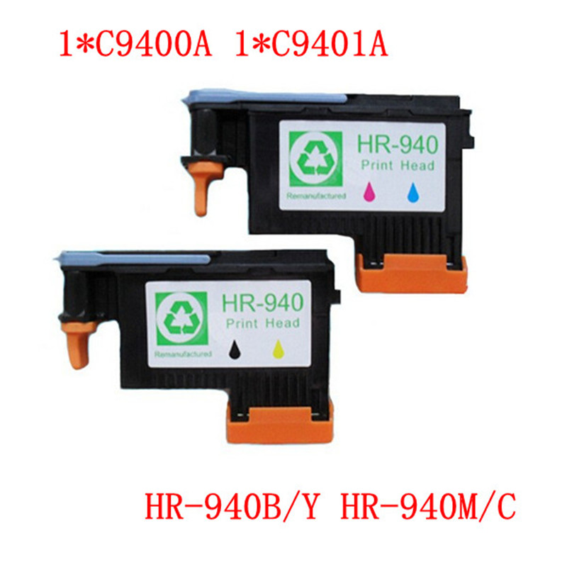 2 PCS 1 SET X Work excellently print head for HP940 C4900A C4901A for hp 940 printhead For HP 8000 8500 printer