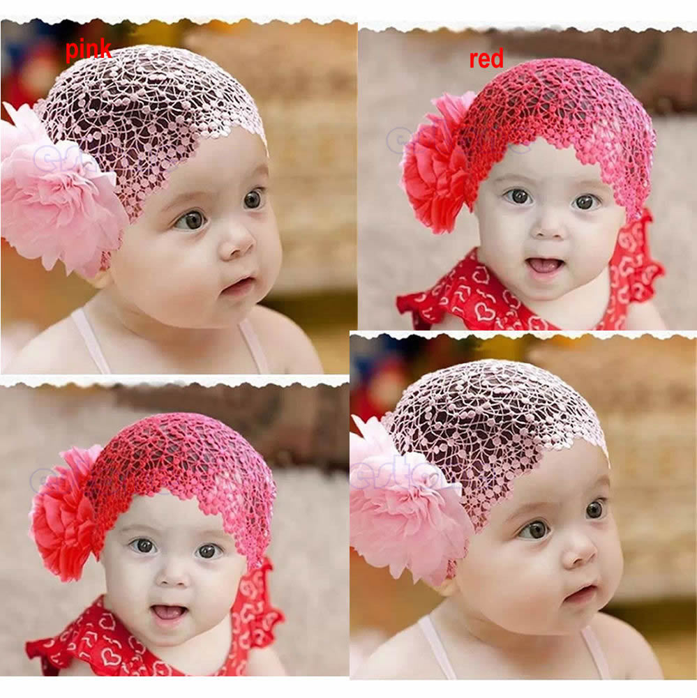 Free Shipping 2 Colors Newborn  Kid Girl Elastic Flower Headband Hairband Hair Accessories metting joura vintage bohemian ethnic tribal flower print stone handmade elastic headband hair band design hair accessories