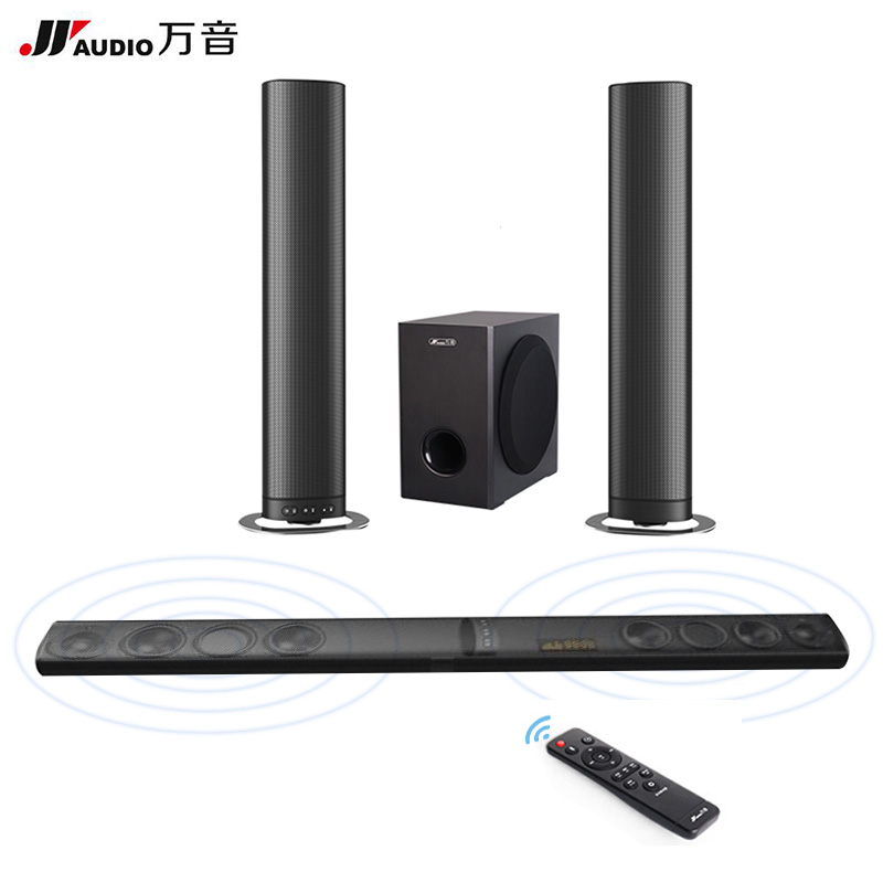 jy audio detachable wireless soundbar tv speakers. Black Bedroom Furniture Sets. Home Design Ideas