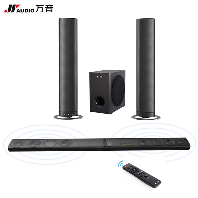 Jy Audio Detachable Wireless Soundbar Tv Speakers