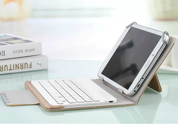 ФОТО 2016 New  PU Leather Keyboard Case For cube t7  Tablet PC  Free Shipping for cube t7 keyboard case