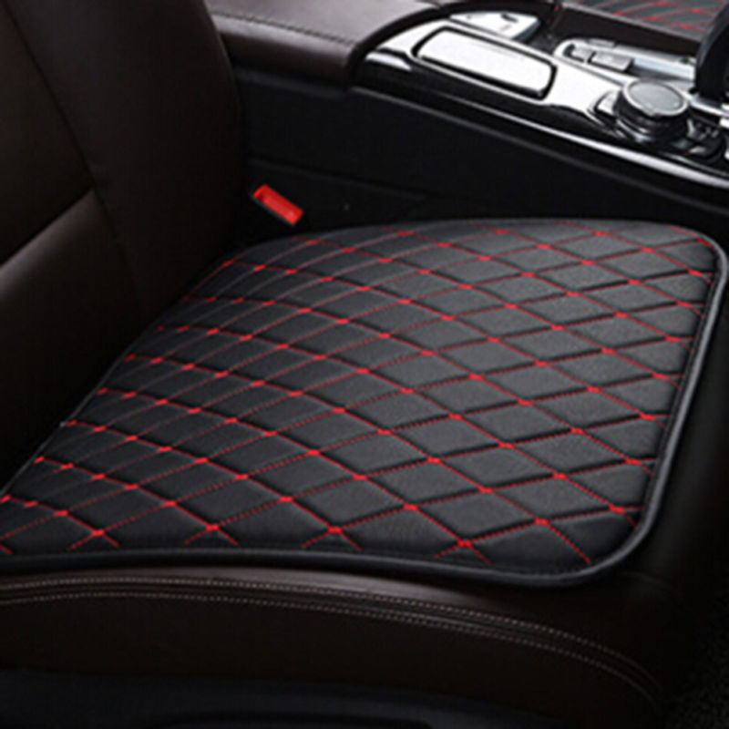 50*52cm Car Front Seat Covers Cotton Breathable Pad Half Surround Mat Protector Mat Cushion Single for Auto Chair Cushion