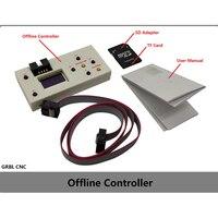 Cnc grbl offline placa de controlador 3 eixos offline cnc controlador para pro 1610/2418/3018 máquina gravura escultura fresadora|Controlador CNC| |  -