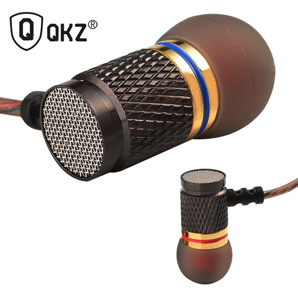 KZ EDX2 In-Ear Earphone Professional Earphones in-ear Headset Metal Heavy Bass sound DJ MP3 Quality Headset Music fone de ouvido