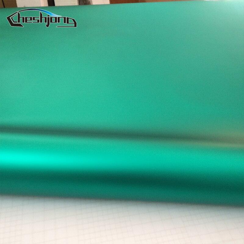 Матовая хромированная виниловая пленка Tiffany Blue, автомобильная пленка, матовая Хромированная пленка для автомобиля, наклейка с воздушными пузырьками, 1,52*20 м/рулон