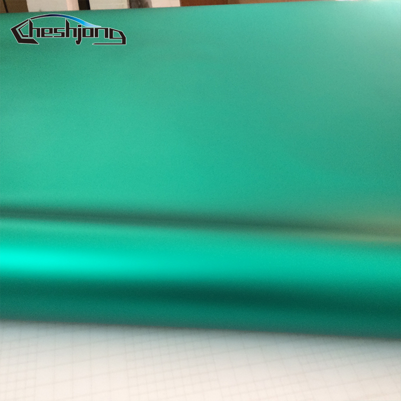 3f7c63c0c0 Matte Chrome Tiffany Blue Wrapping Vinyl Car Wrap Matt Chrome Vehicle Film  Sticker with Air Bubble Free 1.52*20m/roll-in Car Stickers from Automobiles  ...
