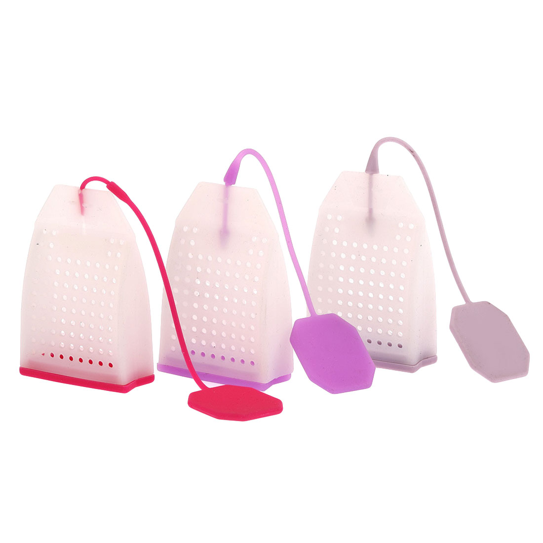 Tea Infuser Food-grade Silicone Tea Bags Colorful Style Strainers Herbal Tea Infusers Filters Scented Tools Random color