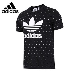 Original New Arrival Adidas Originals TREFOIL TEE Men's T-shirts short sleeve Sportswear