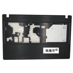 Image 2 - NEW FOR Lenovo Lenovo G580 G585 Bottom Cover /Palmrest Upper Case With HDMI Port Drawing Bench