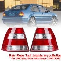 1 Pair Rear Red Tail Lights Brake Lamp For Volkswagen Jetta For VW Jetta Bora MK4