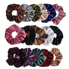 16Pcs Velvet Elastic Hair Bands Braider Scrunchy for Women Girls Peinados Hair Accessories Hair Styling Tools elastique cheveux(China)