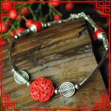Lacquerware Anklet