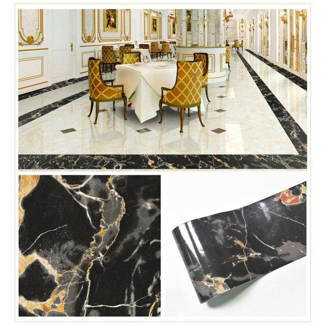Diy Multi Functional Tile Floor High End Decorative Line Stickers European Flooring Wall Sticker 5 10 20 500cm