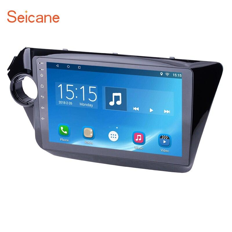 Seicane 9 дюймов Android 6,0 сенсорный экран gps навигации Радио Мультимедийный проигрыватель для 2011 2012 2013 2014 2015 KIA K2 Рио